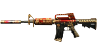 M4A1 Royal Dragon на 30 дней в CrossFire