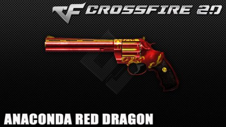 Промо-код для CrossFire 2017 на Anaconda Red Dragon