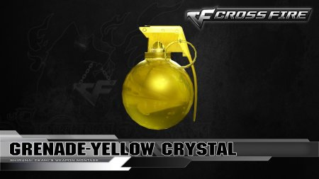 Промо-код для CrossFire 2017 на Гранату Yellow Crystal