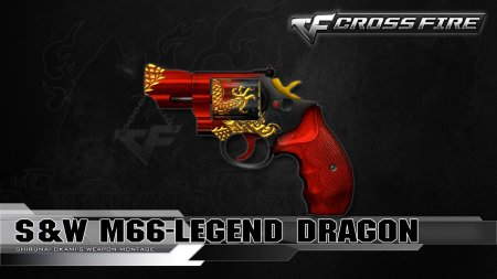 Промо-код для CrossFire 2018 на S&W M66 Legendary Dragon
