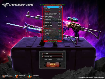 Чит для CrossFire Chrome - DeV CF NA Beta version 2 HACK [22.11.2018]